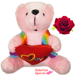 Fabulous Lucas Teddy Bear With Heart