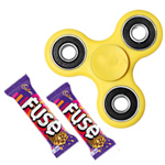 Suave Fidget with Cadbury Chocolate Collection