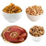 Diwali Thali With Dry Fruit Combo