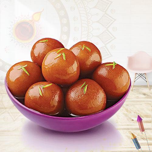 Sumptuous Gulab Jamun for Pooja