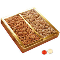 Attractive Gift Set of Dry Fruits 200 Gms. Almonds and Resins