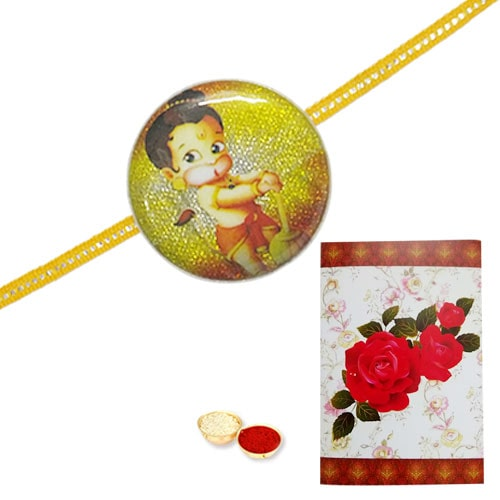 Beatific Ganesha Kid Rakhi