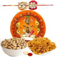 Elegant Rakhi Thali Assortments