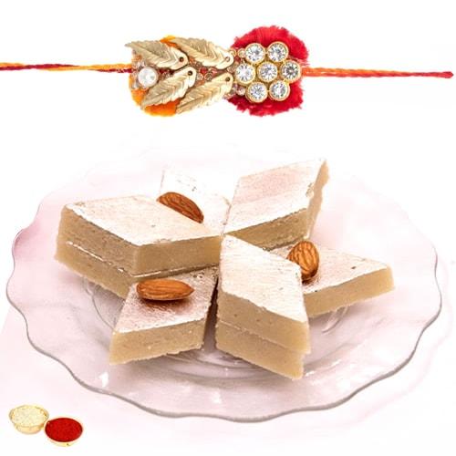 Mouthwatering Rakhi Gift Combo