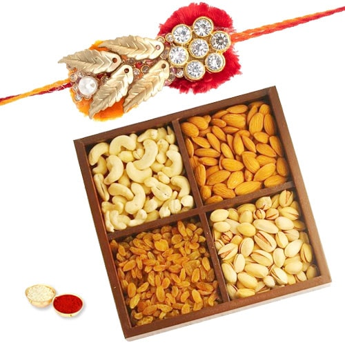 Heart-warming Wholesome Rakhi Special Combo