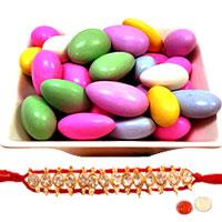 Saccharine Rakhi Delight Gift Combo