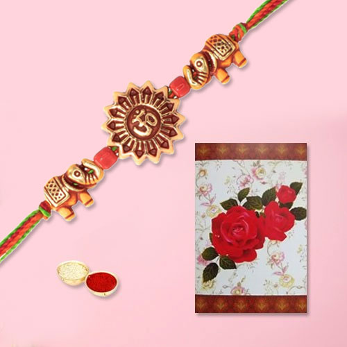 Beatific Swastik Rakhi