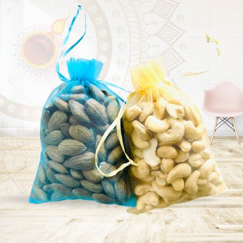 Tasty Combo of Almonds N Cashews<br>