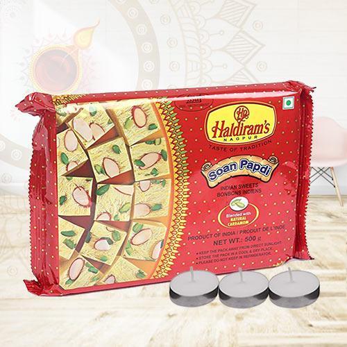 Exclusive Haldirams Soan Papdi Gift Combo<br>