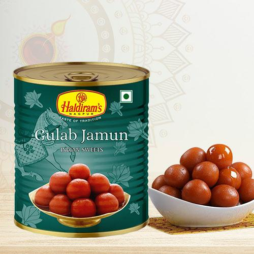 Yummy Haldirams Gulab Jamun<br>