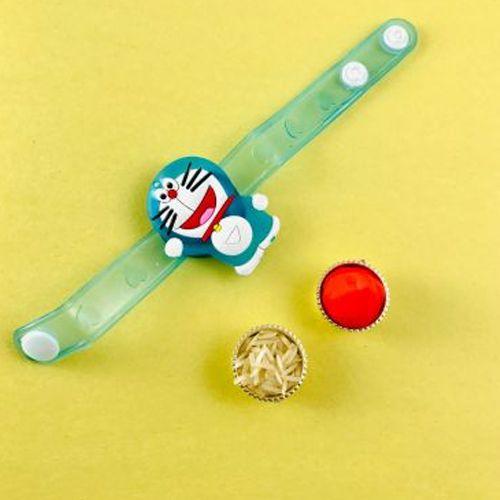 Fashionable Gift of Doraemon Kids Rakhi