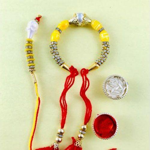 Stylish Rakhi Lumba Set