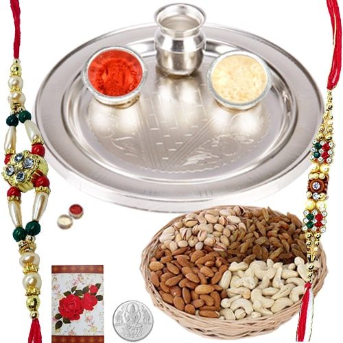 Amazing Lasting Memories Rakhi Gift<br /><font color=#0000FF>Free Delivery in USA</font>