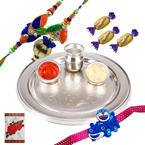 Delightful Love Gift for Rakhi Celebration<br /><font color=#0000FF>Free Delivery in USA</font>