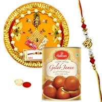 Yummy Haldiram Gulam Jamun with Cool Rakhis
