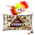 One or More Kids Rakhi with Hersheys Kisses ( 75 Gms.)<br /><font color=#0000FF>Free Delivery in USA</font>