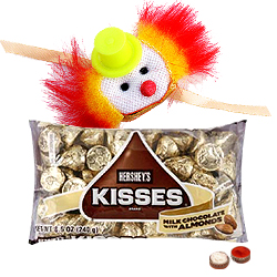 One Kids Rakhi and 1 Ethnic Rakhi with Hersheys Kisses ( 75 Gms.)<br /><font color=#0000FF>Free Delivery in USA</font>