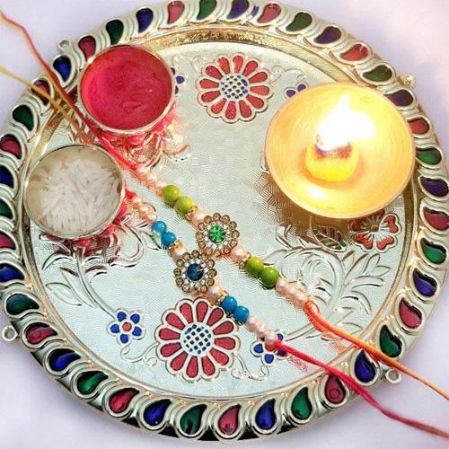 Rakhi Thali Set