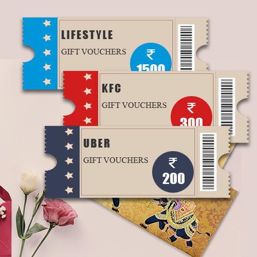 Birthday Celebrations Gifts Vouchers worth INR 2000