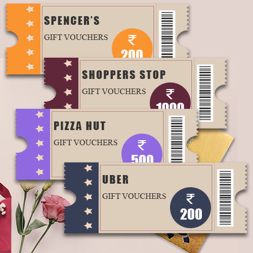 Shopping Gifts Coupon worth INR 2500