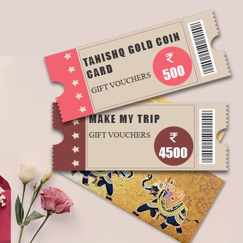 Happy Wedding Wish Gifts Card worth INR 5000