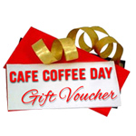 Gift Coupon for CAFE COFFEE DAY Worth Rs. 500