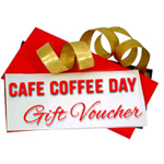 Gift Coupon for CAFE COFFEE DAY Worth Rs. 1000