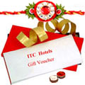 ITC Gift Cards for 4 People Worth Rs.3000 with Rakhi and Roli Tilak Chawal