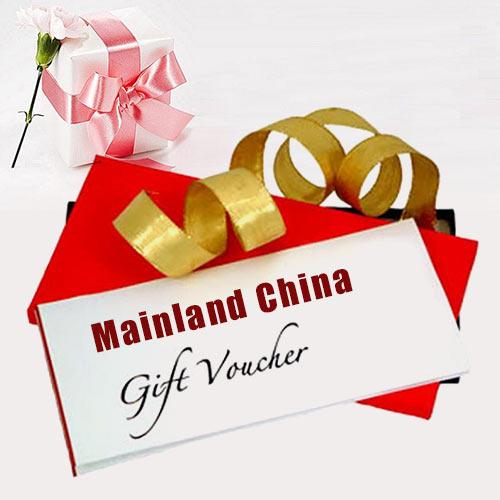 Mainland China Gift Vouchers Worth Rs.1500