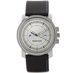 Sober-Looking Analog Gents Watch from Titan Fastrack