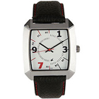 Stunning Gents Watch from Titan Fastrack with Metallic Rectangular Dial