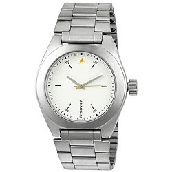 Sophisticated Titan Fastrack Metallic Watch for Gents