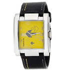 Stylish Rectangular Gents Wrist Watch from Sonata