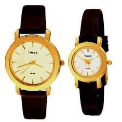 Attractive Couple's Watches from Timex