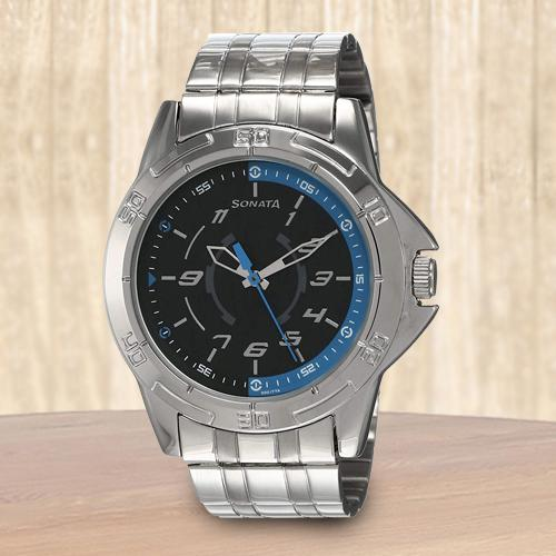 Wonderful Sonata Analog Mens Watch