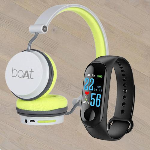 Remarkable Smart Watch N Boat On-Ear Headphone