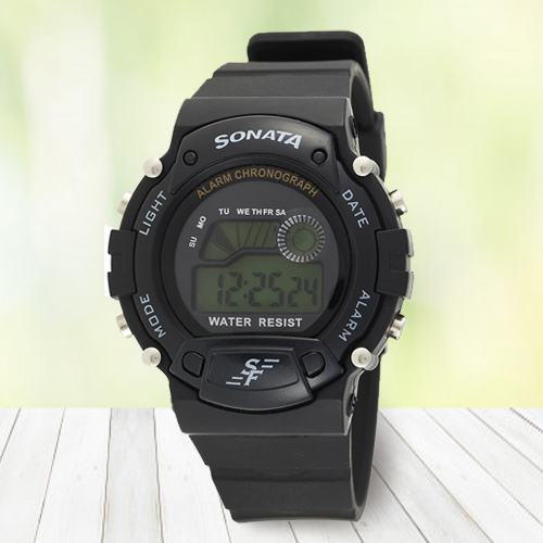 Wonderful Sonata Digital Mens Watch