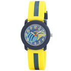 Fashionable Yellow/Blue Analog Kids Watch from Zoop