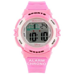 Pastel Pink Wrist Watch for Kids from Disney