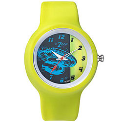 Multicolored kids watch from Titan Zoop.