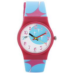 Arresting Multicolored Kids Watch from Zoop