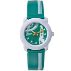 Stunning White and Green Kids Watch Presented by Titan Zoop