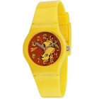 Attractive Animal Printed Yellow Coloured Kids Watch from Titan Zoop