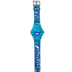 Amazing Oceanic Printed Blue Coloured Watch for Kids from Titan Zoop