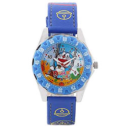 Wonderful Multicoloured Doraemon Analog Kids Watch from Disney