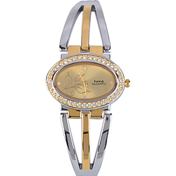 Exclusive Present of Designer Stone Studded Wrist Watch for Ladies