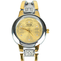 Incredibly Smart Two Tone Designer Watch for Women