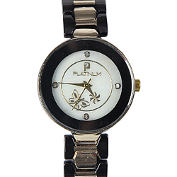 A Trendy Womens Watch adorned with Stones