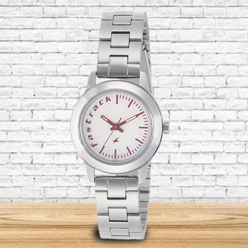 Remarkable Fastrack Fundamentals Analog Womens Watch