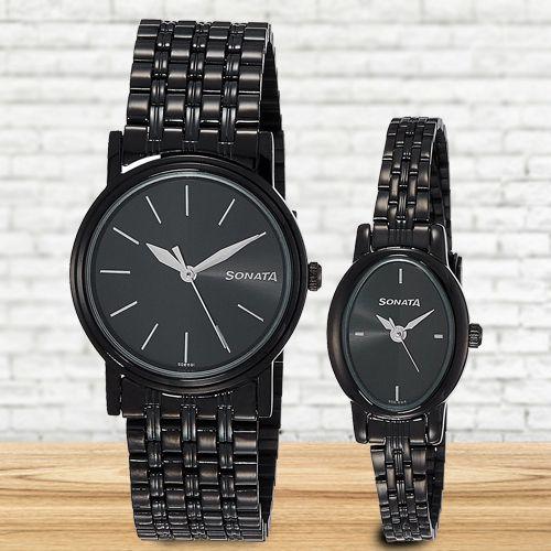 Exclusive Sonata Analog Unisex Watch